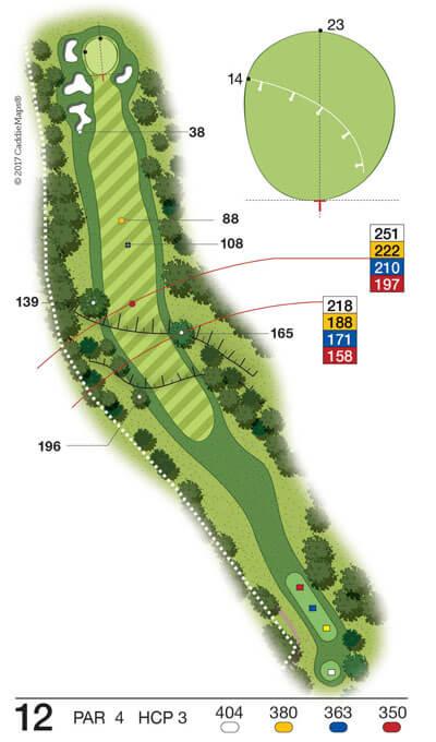 Buca 12 Golf Club Verona