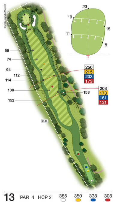 Buca 13 Golf Club Verona