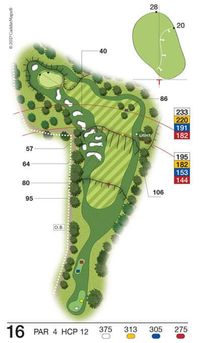 Buca 16 Golf Club Verona