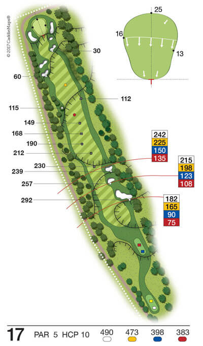 Buca 17 Golf Club Verona