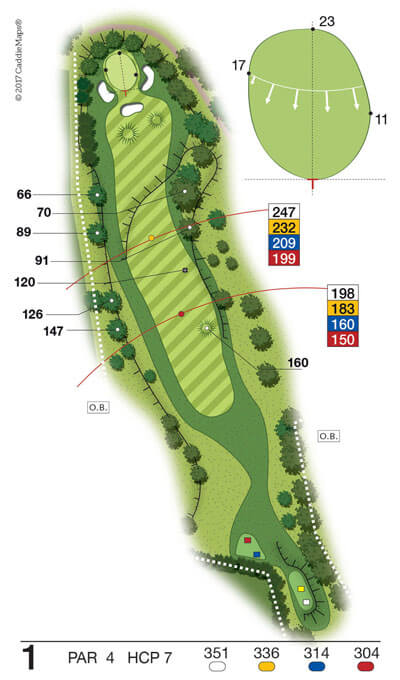 Buca 1 Golf Club Verona