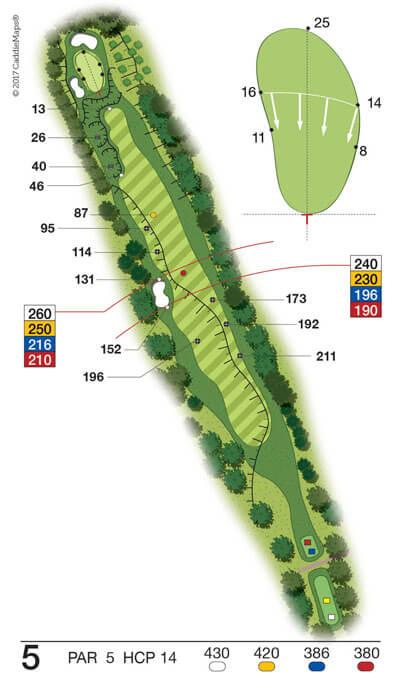 Buca 5 Golf Club Verona