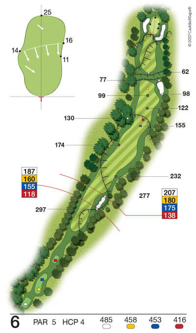 Buca 6 Golf Club Verona