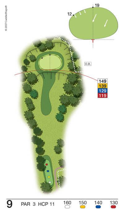 Buca 9 Golf Club Verona